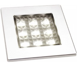 Batsystem / Frilight Square 80 Zilver LED