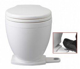Jabsco Toilet Lite Flush 12 Volt Voetschakelaar / 58500-0012