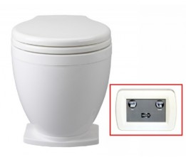 Jabsco Toilet Lite Flush 24 Volt Paneel Bediening / 58500-1024