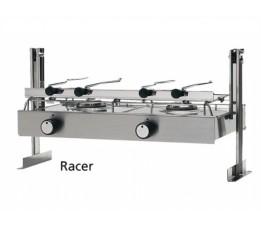 Techimpex Racer Kooktoestel Cardanisch RVS 2-Pits