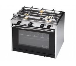 Techimpex XL3 Oven + 3 pits Kooktoestel / Afhalen