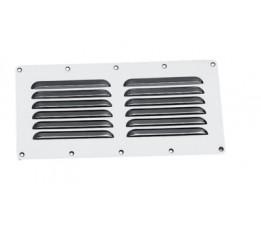 Ventilatierooster RVS 115 x 230 mm