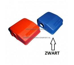 Beschermkappen Dubbel Rood / Zwart
