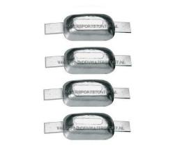 Aluminium Anode 0,45 kg (Stripanode) *** 4 STUKS ***
