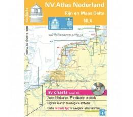 Atlas Nederland NL4 Rijn en Maas Delta 2018
