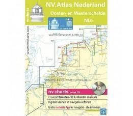Atlas Nederland NL5 Ooster en Westerschelde 2019