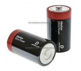 Batterijen Alkaline LR20 - 2 Stuks