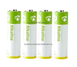 Batterijen Alkaline LR6 - 4 Stuks