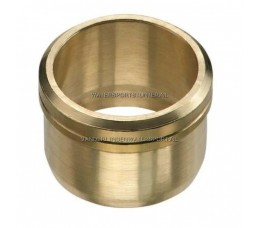 Biconische Ring 12 mm Messing