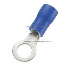 Ringstekker AMP Blauw 4,3 mm / 4 Stuks