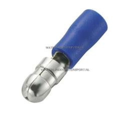 Rondstekker AMP Blauw 5,0 mm / 40 Stuks