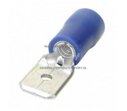 Tongstekker AMP Blauw 6,3 mm / 26 Stuks