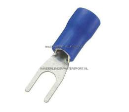 Vorkstekker AMP Blauw 4,3 mm / 100 Stuks