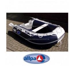 Rubberboot Allpa Sens290 ALU Blauw-Wit