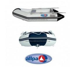 Rubberboot Allpa Sens290 ALU Wit-Blauw