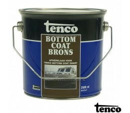 Tenco Bottom Coat Brons 2,5 Liter