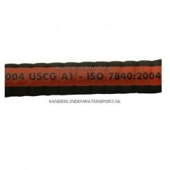 Brandstofslang 38 mm ISO 7840 A1