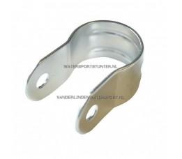 Buisclip Enkel Halve Cirkel RVS 25 mm