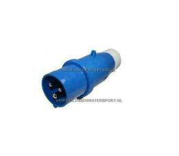 CEE Stekker Dyna Man 3-Polig 220 Volt 16 Ampere