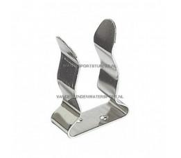RVS Clip 25 / 32 mm