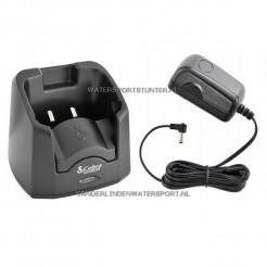 Cobra Laadstation + Adapter 220 Volt Voor HH350 / HH 500