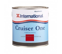 International Cruiser One Antifouling Rood 2,5 Liter