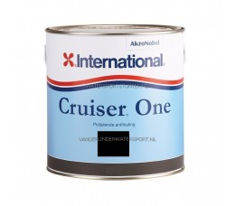 International Cruiser One Antifouling Zwart 2,5 Liter