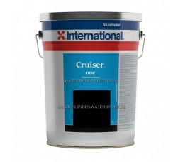 International Cruiser One Antifouling Zwart 5 Liter