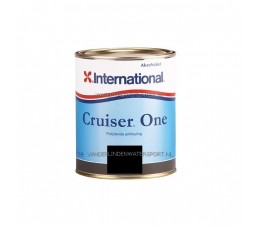 International Cruiser One Antifouling Zwart 750 ml