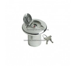 Dekvuldop Water Met Slot 38 mm RVS