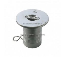 Dekvuldop Diesel 38 mm RVS Twist