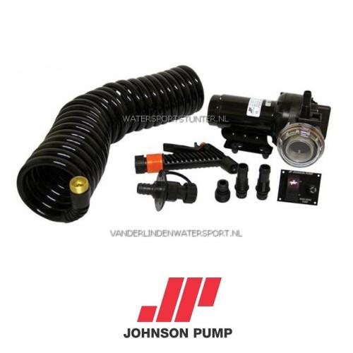 Johnson Dekwaspomp Set 12 Volt 20 Liter
