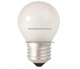 Kogellamp 220 Volt 25 Watt Mat Schroefdraad E27