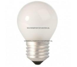 Kogellamp 220 Volt 60 Watt Mat Schroefdraad E27