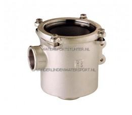 Koelwaterfilter Vernikkeld Groot 1-1/2 - 38 mm