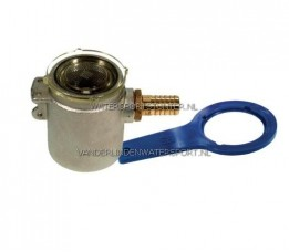 Koelwaterfilter Vernikkeld 1/2 - 12 mm