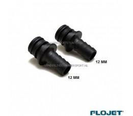 Flojet Aansluittules 12 mm Recht