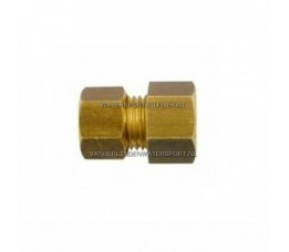 Koppeling Recht 1/4 Binnendraad x 8 mm Gas Messing