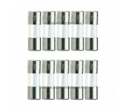 Glaszekering 5x20 mm 1 Ampere / 10 Stuks
