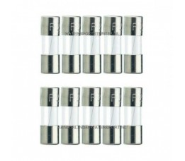 Glaszekering 5x20 mm 3 Ampere / 10 Stuks