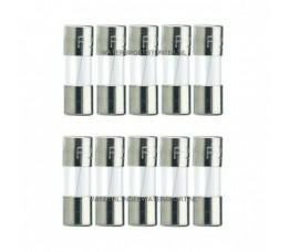 Glaszekering 5x20 mm 10 Ampere / 10 Stuks