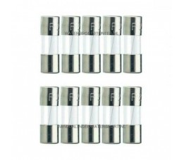 Glaszekering 5x20 mm 20 Ampere / 10 Stuks