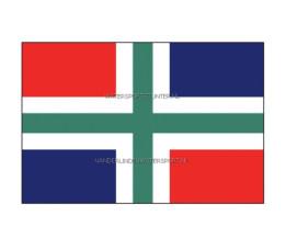 Vlag Groningen 20x30 cm