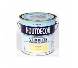 Hermadix Houtdecor 608 Zonnegeel Dekkend 2,5 Liter