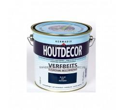 Hermadix Houtdecor 627 Blauw Dekkend 2,5 Liter