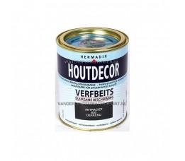 Hermadix Houtdecor 630 Antraciet Dekkend 750 ml