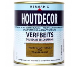 Hermadix Houtdecor 656 Groen Transparant 750 ml