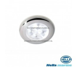 Hella LED Inbouwlamp 12 Volt Chroom-Wit