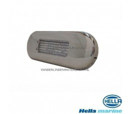 Hella LED Traplamp 10-30 Volt Chroom-Wit