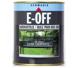 Hermadix E-Off Hardhoutolie Dark Graphite 750 ml